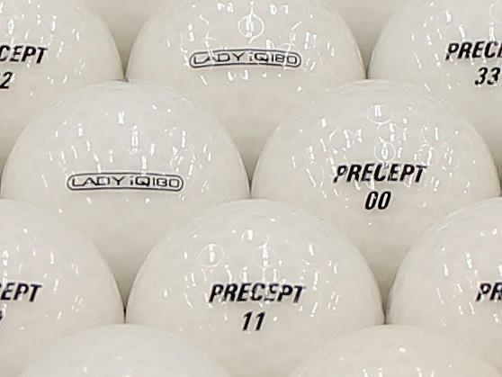 【ABランク】PRECEPT LADY iQ 180 クリアホワイト 1個