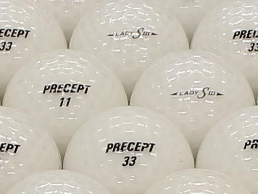 【ABランク】PRECEPT LADY  S3 パールホワイト 1個