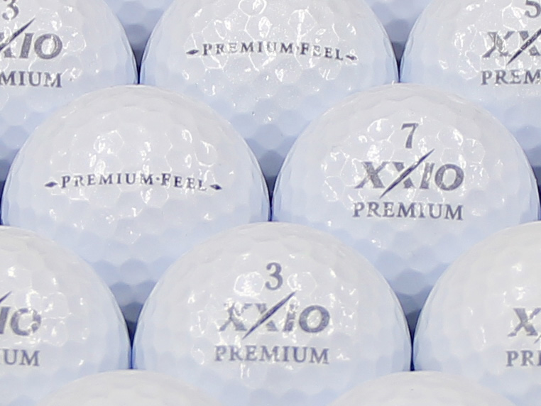 【ABランク】XXIO(ゼクシオ) PREMIUM FEEL ロイヤルプラチナ 2014年モデル 1個