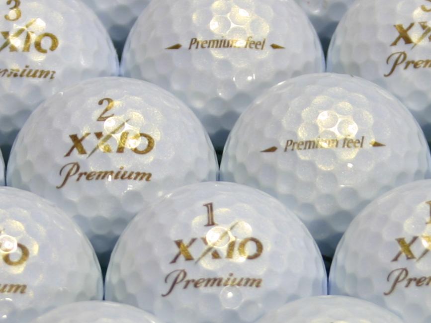 【ABランク】XXIO(ゼクシオ) Premium feel  ロイヤルゴールド 2010年モデル 1個
