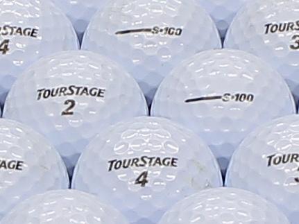 【ABランク】ツアーステージ S100 パールホワイト 1個