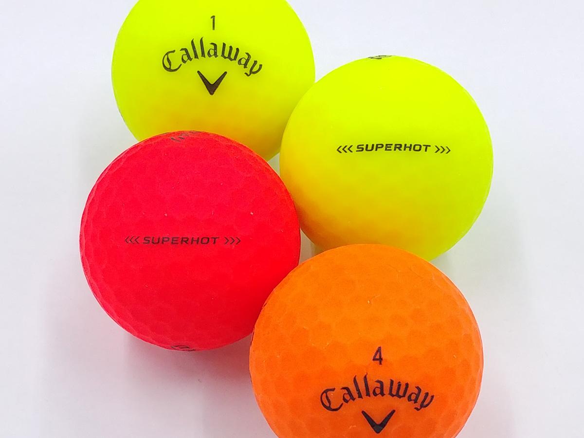 【ABランク】Callaway(キャロウェイ) SUPER HOT カラー混合 1個