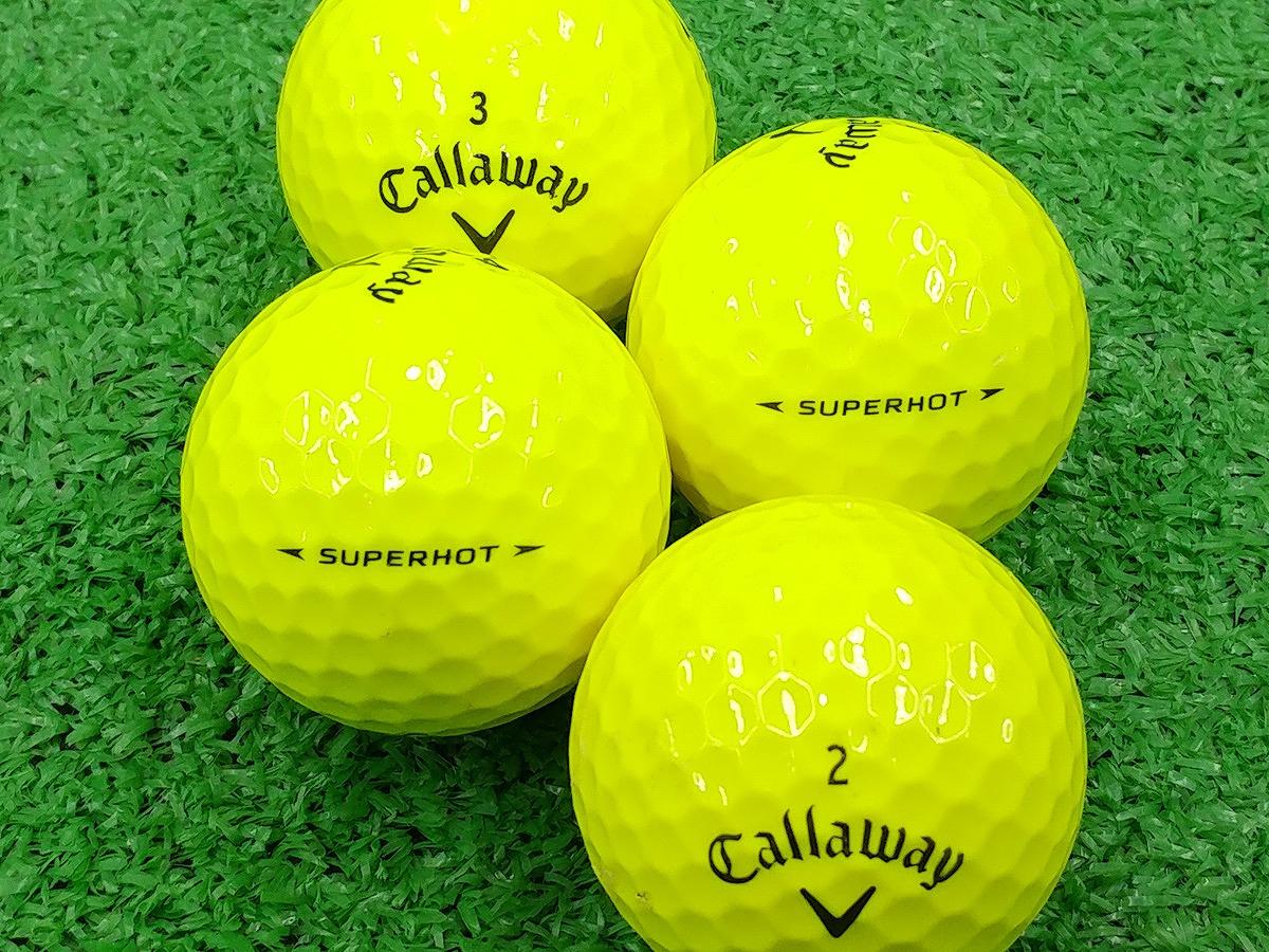 【ABランク】Callaway(キャロウェイ) SUPER HOT イエロー 1個