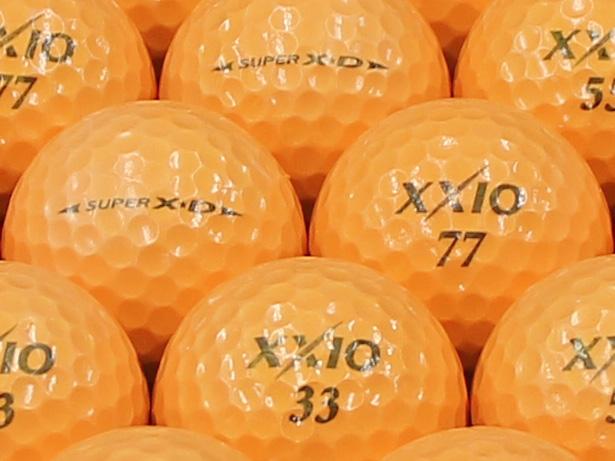 【ABランク】XXIO(ゼクシオ) SUPER XD プレミアムオレンジ 1個