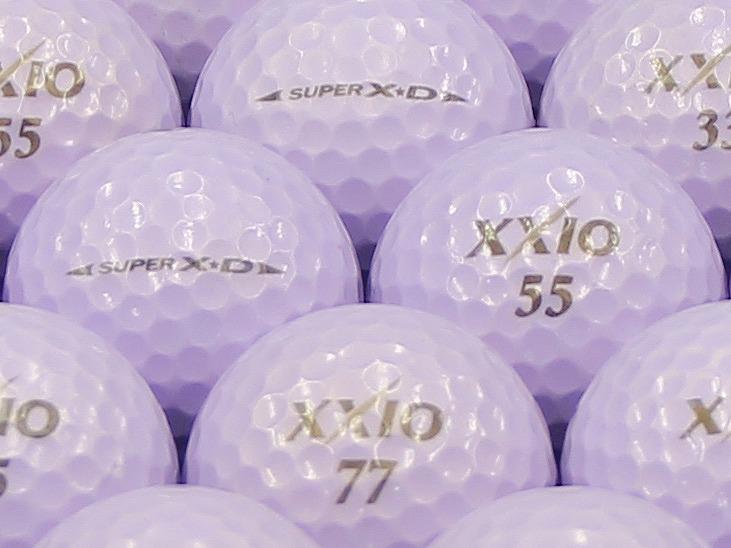 【ABランク】XXIO(ゼクシオ) SUPER XD プレミアムパープル 1個