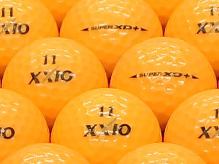 【ABランク】XXIO(ゼクシオ) SUPER XD PLUS プレミアムライトオレンジ 1個