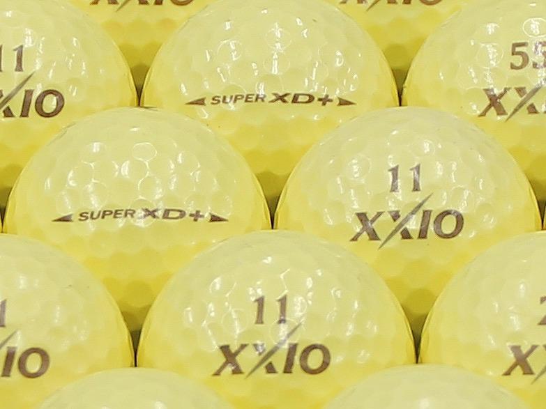 【ABランク】XXIO(ゼクシオ) SUPER XD PLUS プレミアムイエロー 1個