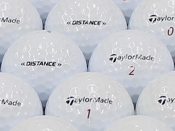 【ABランク】Taylor Made(テーラーメイド) DISTANCE ホワイト 2014年モデル 1個