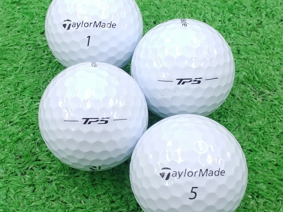 【ABランク】Taylor Made(テーラーメイド) TP5 ホワイト 2018年モデル 1個