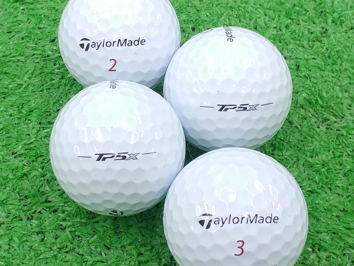 【ABランク】Taylor Made(テーラーメイド) TP5x ホワイト 2018年モデル 1個