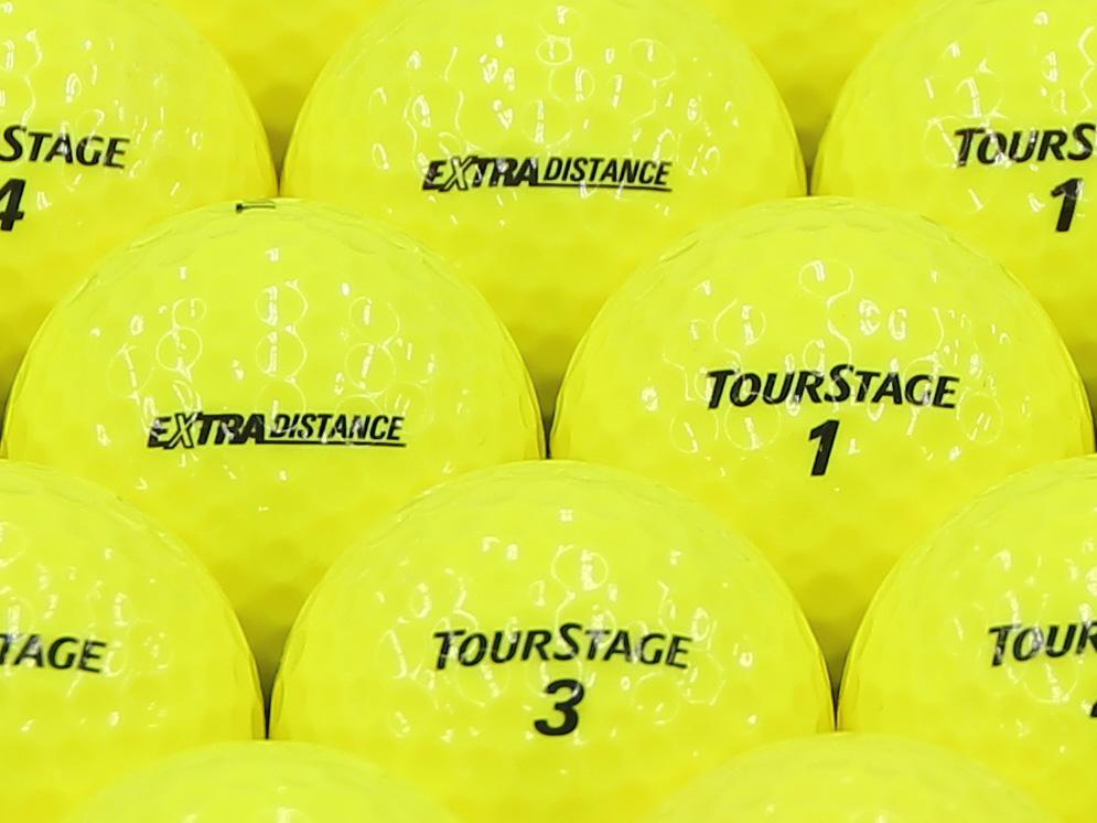 【ABランク】ツアーステージ EXTRA DISTANCE イエロー 2014年モデル 1個
