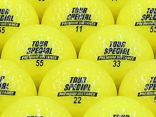 【ABランク】DUNLOP(ダンロップ) TOUR SPECIAL PREMIUM DISTANCE イエロー 1個
