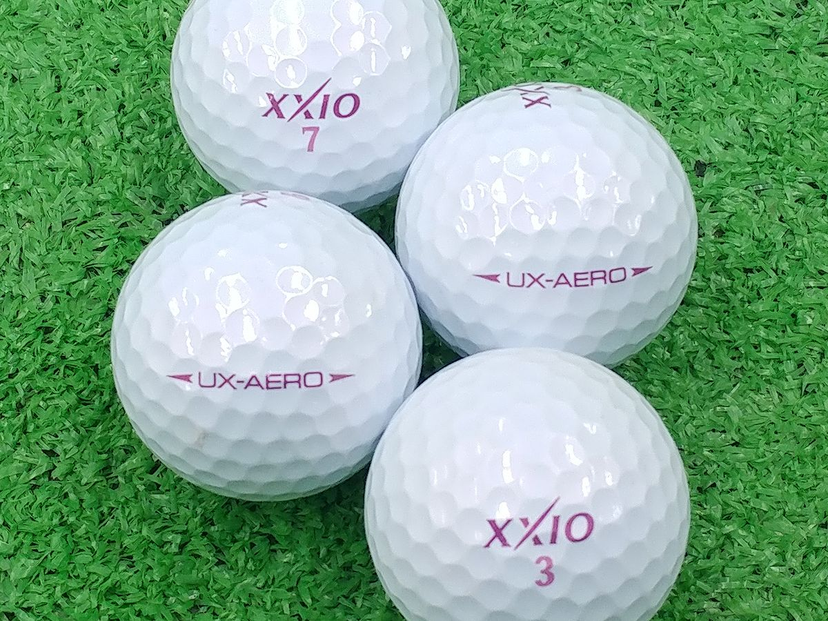 【ABランク】XXIO(ゼクシオ) UX-AERO ボルドー 2016年モデル 1個