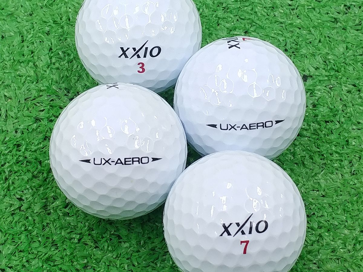 【ABランク】XXIO(ゼクシオ) UX-AERO ホワイト 2016年モデル 1個