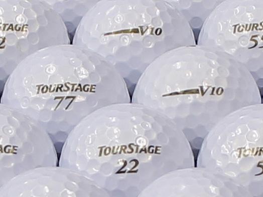 【ABランク】ツアーステージ V10 パールホワイト 2012年モデル 1個