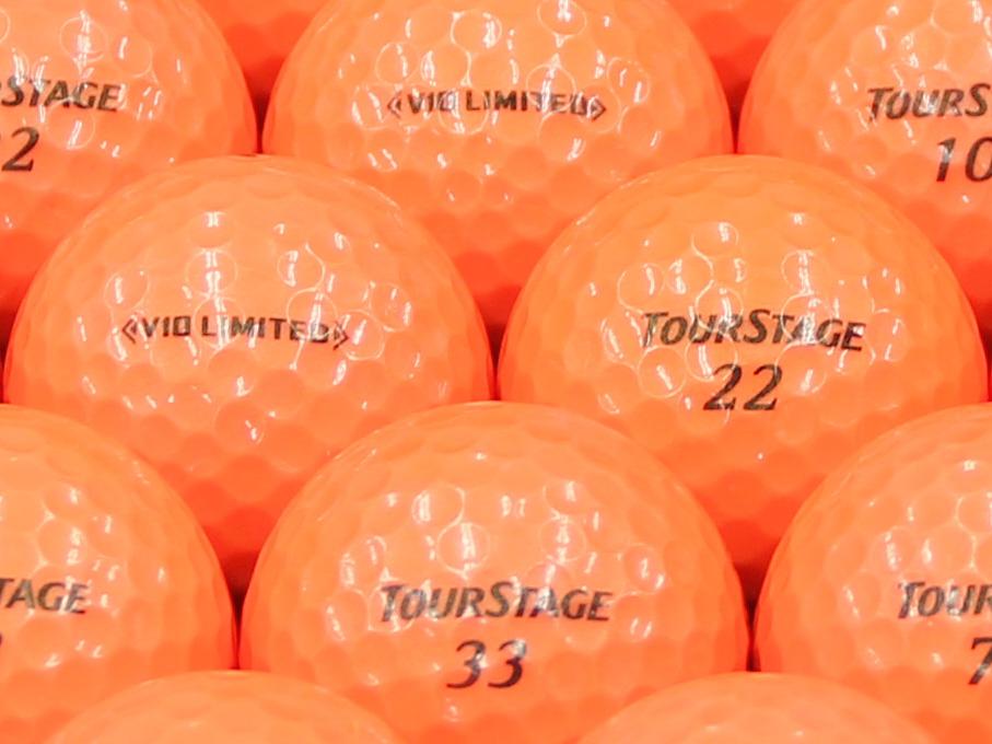 【ABランク】ツアーステージ V10 LIMITED オレンジ 2014年モデル 1個