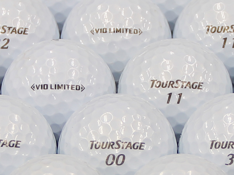 【ABランク】ツアーステージ V10 LIMITED パールホワイト 2014年モデル 1個