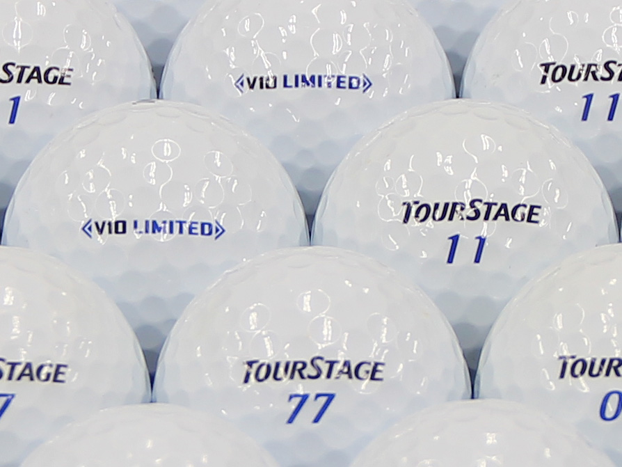 【ABランク】ツアーステージ V10 LIMITED ホワイト 2014年モデル 1個