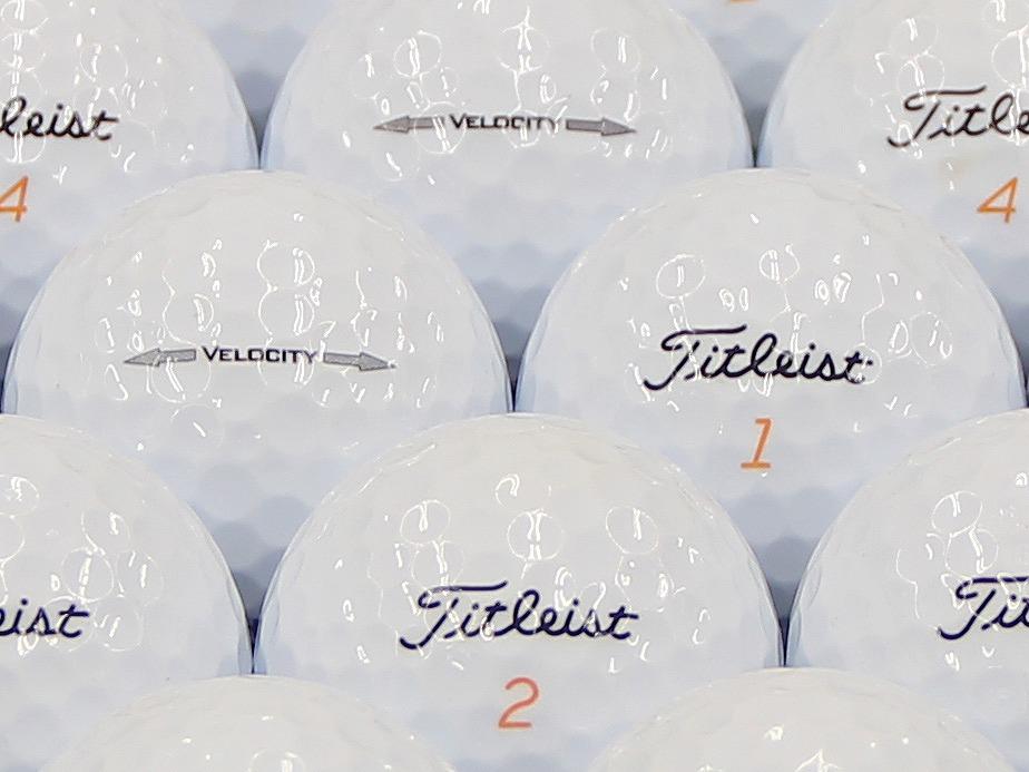 【ABランク】Titleist(タイトリスト) VELOCITY ホワイト 2014年モデル 1個