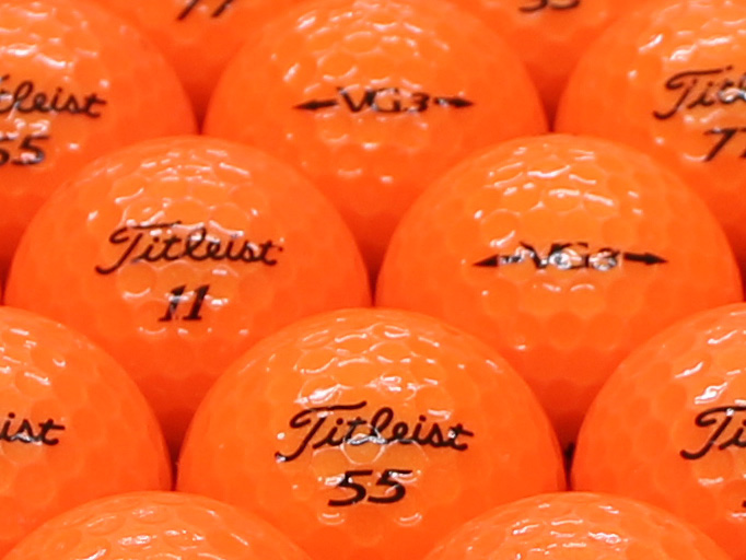 【ABランク】Titleist(タイトリスト) VG3 オレンジパール 2012年モデル 1個