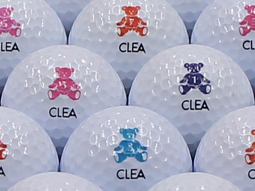【ABランク】Wilson BEAR CLEA ホワイト 1個