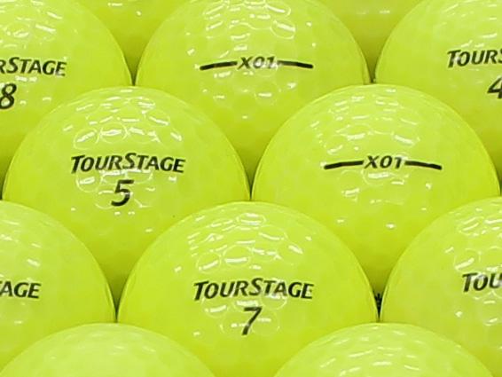 【ABランク】ツアーステージ X01 スーパーイエロー 2012年モデル 1個