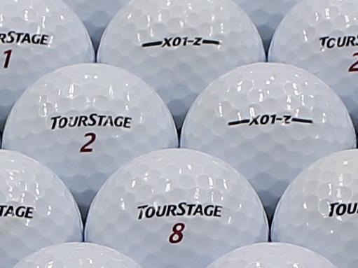 【ABランク】ツアーステージ X01z ホワイト 2012年モデル 1個