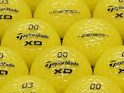 【ABランク】Taylor Made(テーラーメイド) XD DISTANCE80 イエロー 1個