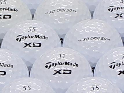 【ABランク】Taylor Made(テーラーメイド) XD SPIN50 2011年モデル 1個