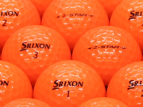 【ABランク】SRIXON(スリクソン) Z-STAR プレミアムパッションオレンジ 2011年モデル 1個