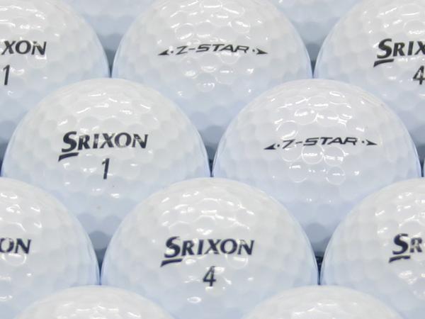 【ABランク】SRIXON(スリクソン) Z-STAR ホワイト 2011年モデル 1個
