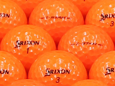 【ABランク】SRIXON(スリクソン) Z-STAR プレミアムパッションオレンジ 2013年モデル 1個