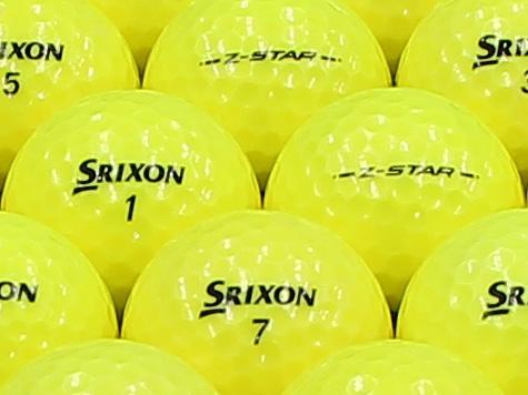 【ABランク】SRIXON(スリクソン) Z-STAR プレミアムパッションイエロー 2013年モデル 1個