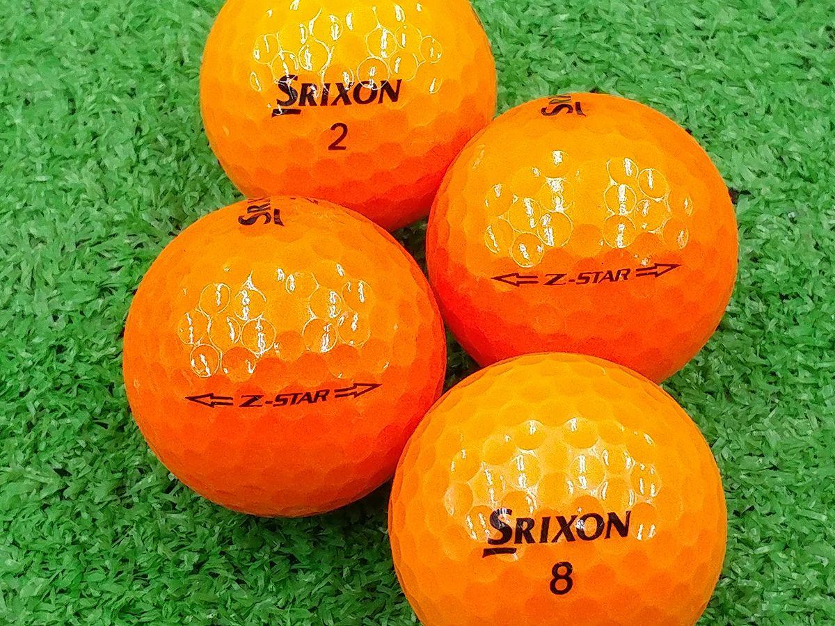 【ABランク】SRIXON(スリクソン) Z-STAR プレミアムパッションオレンジ 2015年モデル 1個