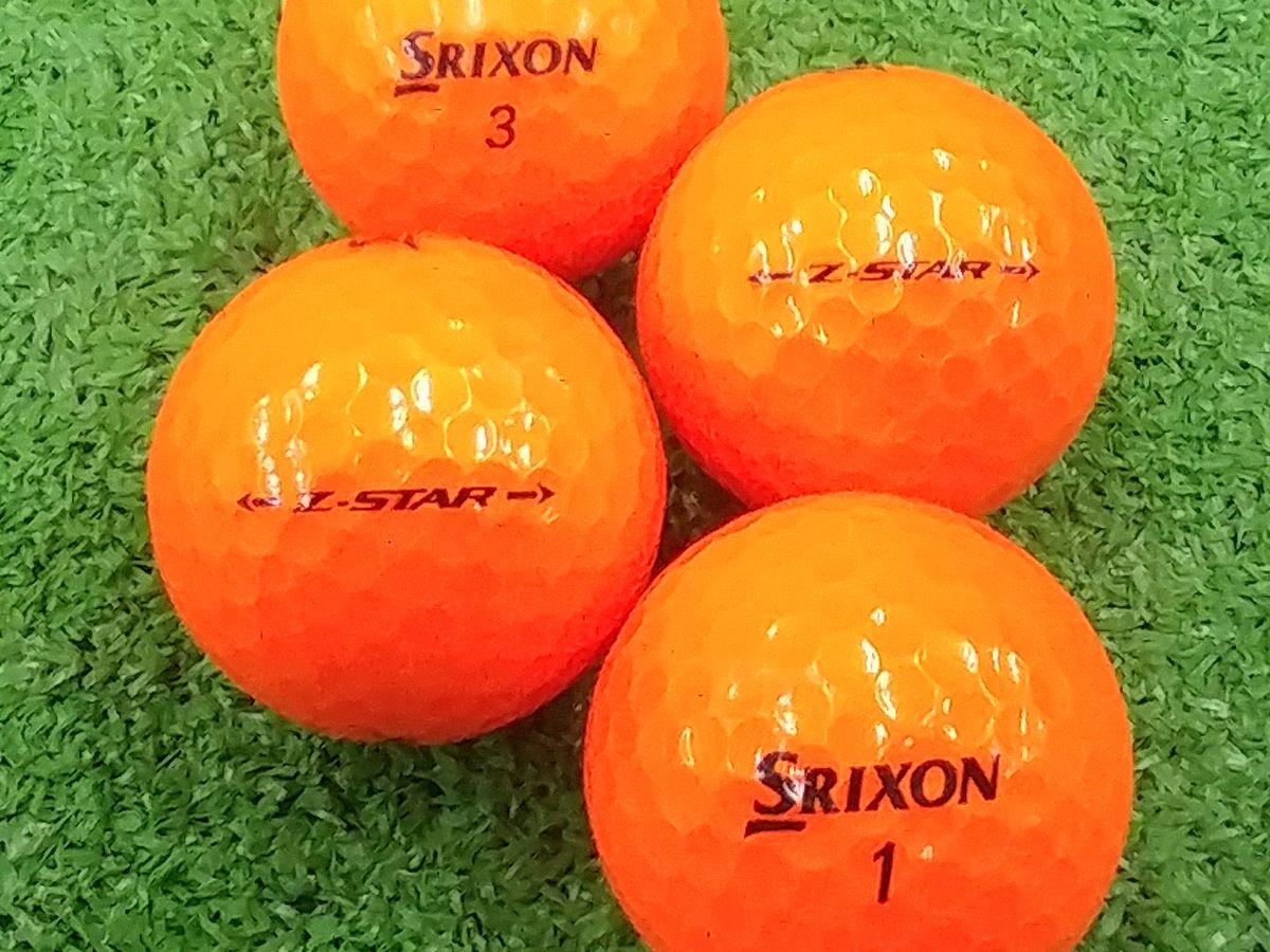 【ABランク】SRIXON(スリクソン) Z-STAR プレミアムパッションオレンジ 2017年モデル 1個