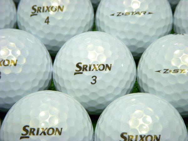 【ABランク】SRIXON(スリクソン) Z-STAR プレミアムホワイト 2009年モデル 1個