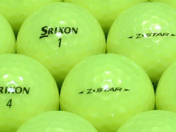 【ABランク】SRIXON(スリクソン) Z-STAR パッションイエロー 2009年モデル 1個