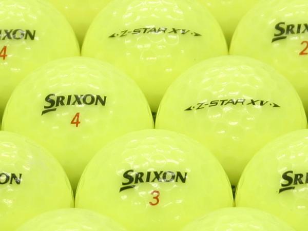 【ABランク】SRIXON(スリクソン) Z-STAR XV プレミアムパッションイエロー 2011年モデル 1個