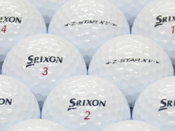 【ABランク】SRIXON(スリクソン) Z-STAR XV ホワイト 2011年モデル 1個