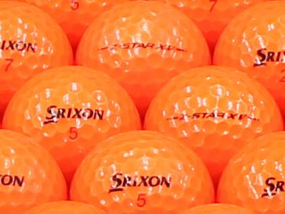 【ABランク】SRIXON(スリクソン) Z-STAR XV プレミアムパッションオレンジ 2013年モデル 1個