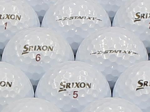 【ABランク】SRIXON(スリクソン) Z-STAR XV プレミアムホワイト 2013年モデル 1個