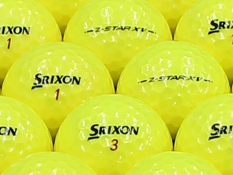 【ABランク】SRIXON(スリクソン) Z-STAR XV プレミアムパッションイエロー 2013年モデル 1個