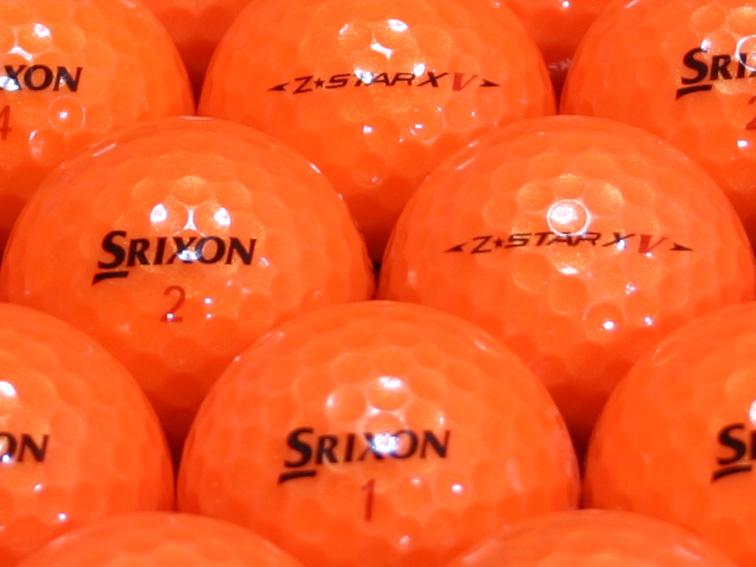 【ABランク】SRIXON(スリクソン) Z-STAR XV パッションオレンジ 2010年モデル 1個