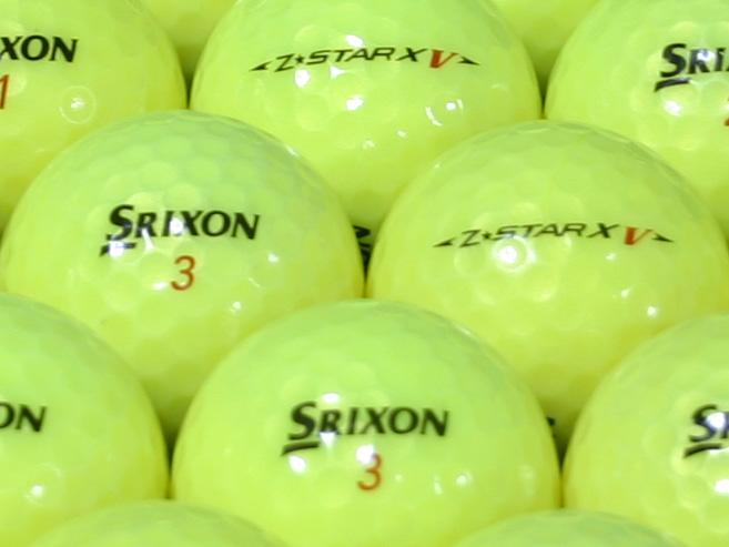 【ABランク】SRIXON(スリクソン) Z-STAR XV パッションイエロー 2010年モデル 1個