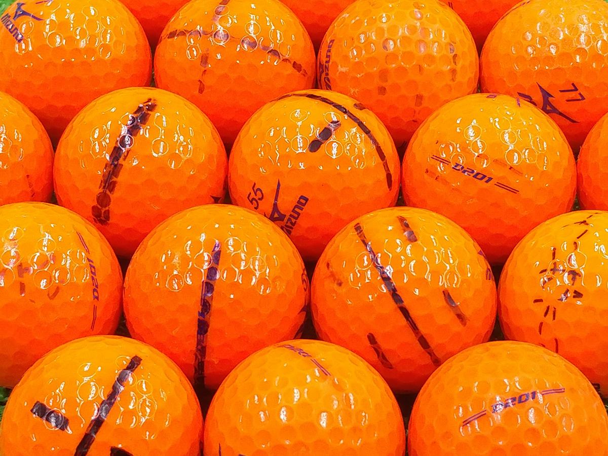 【ABランク落書き】ミズノ D201 オレンジ 2017年モデル 1個