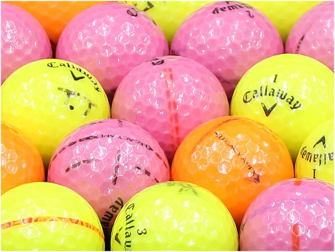 【ABランク落書き】Callaway(キャロウェイ) LEGACY APEX カラーボール混合 1個