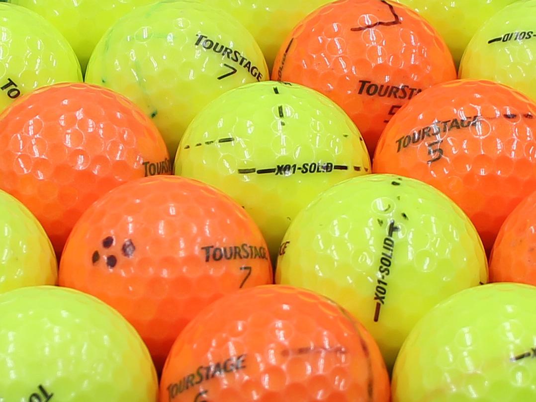 【ABランク落書き】ツアーステージ X01-SOLID カラーボール混合 1個