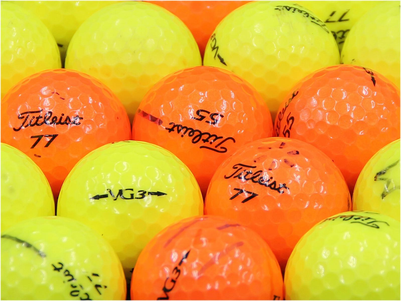【ABランク落書き】Titleist(タイトリスト) VG3 カラーボール混合 2012年モデル 1個