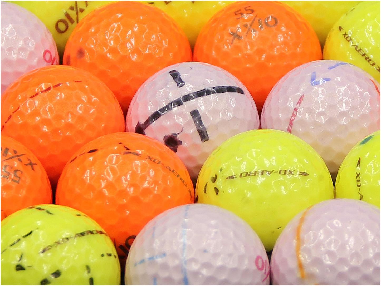 【ABランク落書き】XXIO(ゼクシオ) XD-AERO カラーボール混合 1個