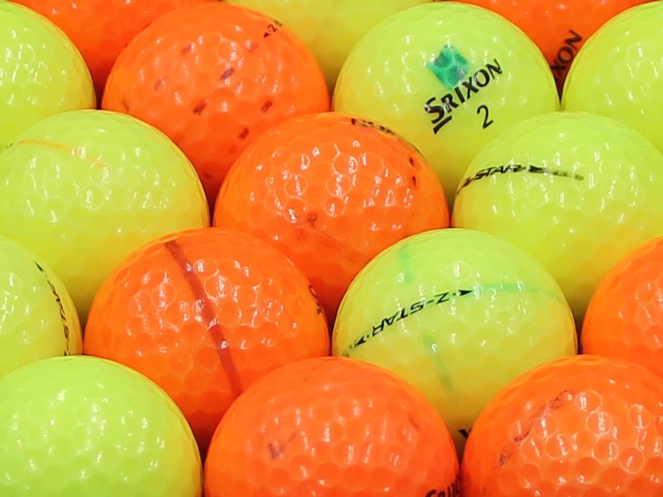 【ABランク落書き】SRIXON(スリクソン) Z-STAR カラー混合 2011年モデル 1個